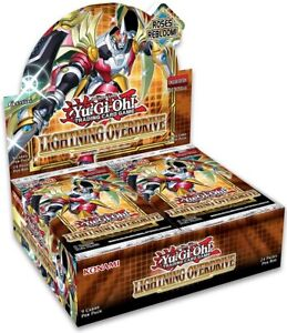 Lightning Overdrive Booster Box x6 1st Edition Factory Sealed Yu-Gi-Oh! Presell