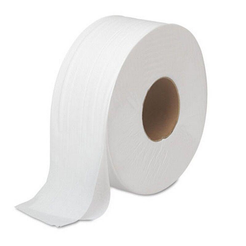 Boardwalk Jrt Bath Tissue Jumbo 2-Ply White 1000 Ft roll 12 Rolls carton