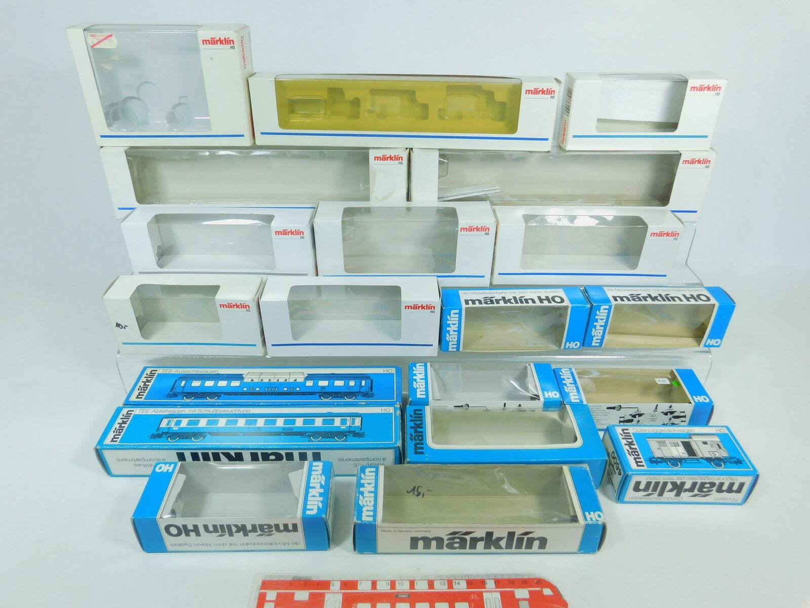 Bn968-3 x Märklin H0 Caja Vacía   4202 +4415 +4600 +4089 +4090 +4418 +4127