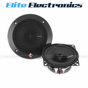 "Rockford Fosgate R14X2 Prime 4"" 60W 2-Way Full-Range Speakers"