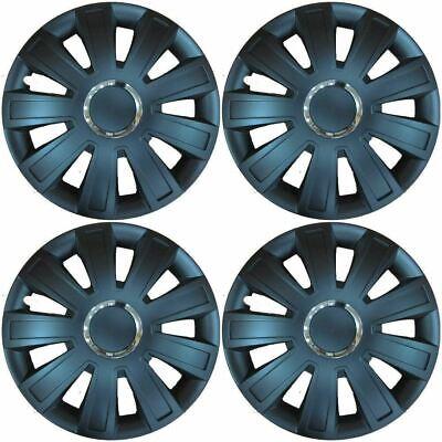 "Set of 4 wheel trims 15/"" Hub Caps Covers to fit Fiat Punto,Stilo,Doblo,Multipla"