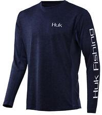 Huk Men/'s Icon X Long Sleeve Shirt Key Lime Large