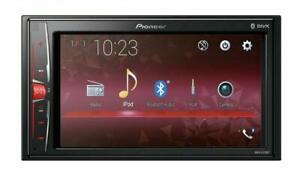 Pioneer-MVH-A210BT-6-2-034-2-DIN-Moniceiver-mit-Bluetooth-Autoradio-Doppel-DIN-NEU
