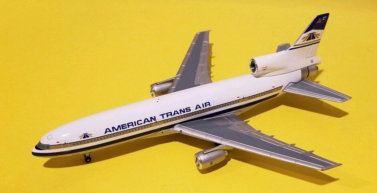 blu Box 1 400 ATA American Trans Air L1011 80s librea N189AT Rara