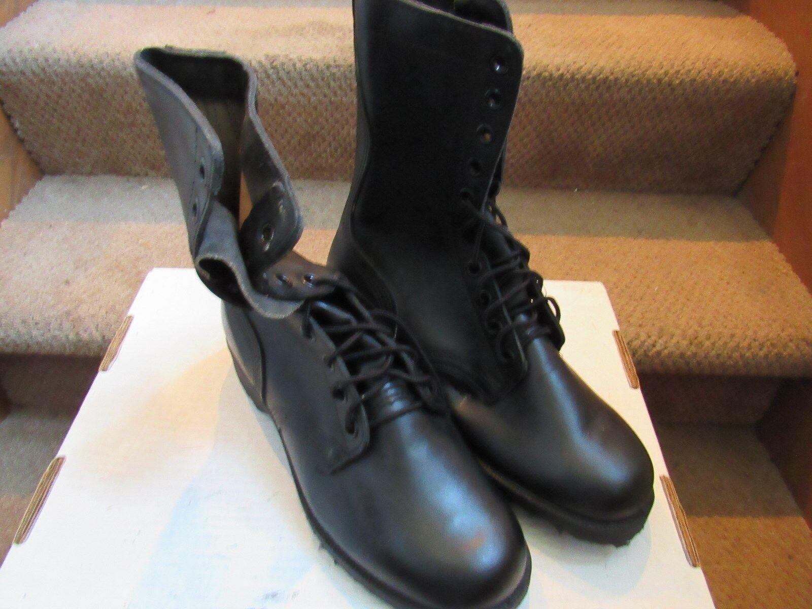 sconto prezzo basso PAIR US ARMY nero nero nero COMBAT stivali uomo Dimensione 8 WIDE MARINES ROTHCO June 1984  molto popolare