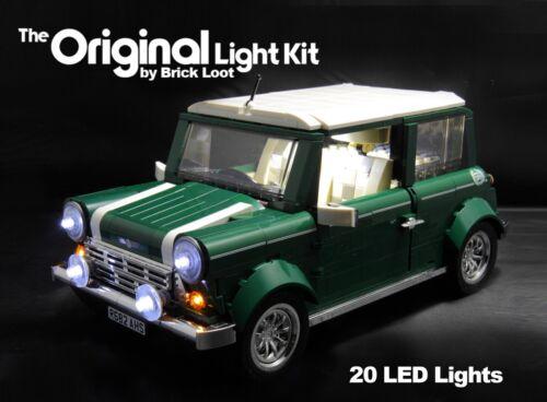 LED Lighting Kit for LEGO ® 10242 Mini Cooper