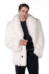 Real-Natural-White-Fox-Fur-Jacket-Coat-for-Men-Shawl-Collar