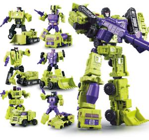 Construction-Vehicles-Engineering-Truck-Robot-Combiner-Devastator-Action-Figure