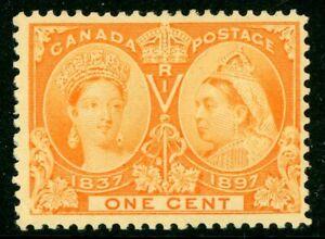 Canada-1897-Jubilee-1-Scott-51-Mint-W696