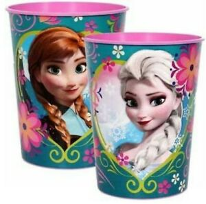 Frozen-Plastic-Drink-Favour-Cup-473ml-Frozen-Party-Supplies