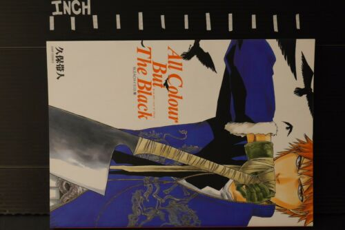 "Bleach Art Book /""All Colour But Black/"" JAPAN Tite Kubo"
