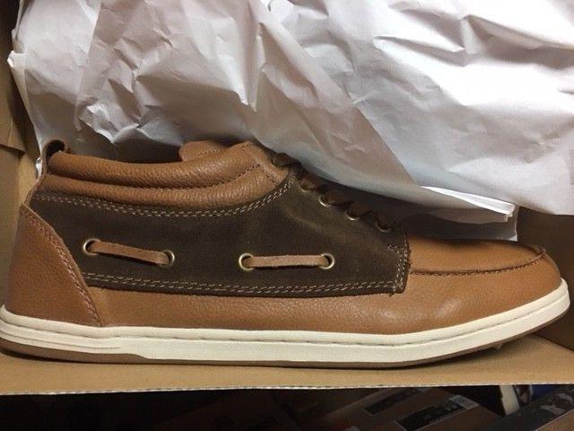 Farley bari cortos nuevo gr 41 cuero retro Leather zapatos marrón CK 3043-2h