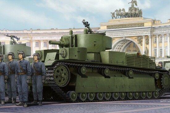 Hobby Boss 1 35 Russian T-28E Medium Tank