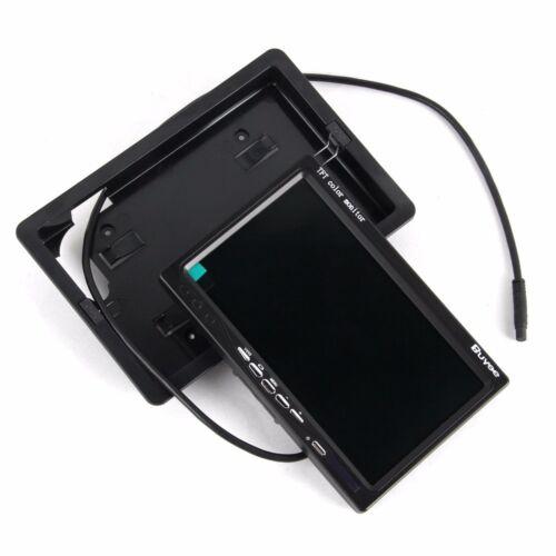 7 pollici monitor 17,8cm per auto camion camper con fotocamera posteriore Set Completo Notte