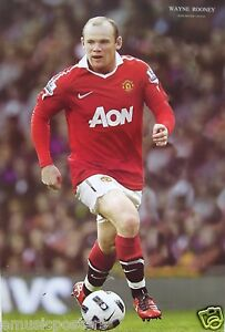 WAYNE-ROONEY-CONTROLLING-THE-BALL-POSTER-Manchester-United-FC-Soccer-Football