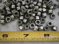 Lock Nuts M4 Nylon Insert Stainless Steel Lot Of 99 4454