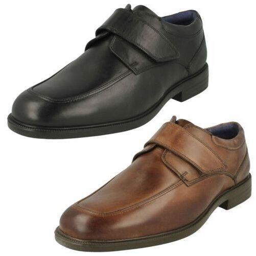 Hombre Padders Formal Cierre Adhesivo Cierre Zapatos Brent