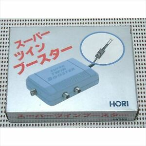 HORI-RE-super-twin-booster-for-Famicom-PC-engine-SEGA-mark-2-3-MSX-MSX2-PC-Japan