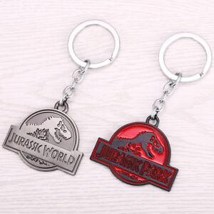 Jurassic-Park-Key-Chain-Jurassic-World-Metal-Key-Rings-For-Gifts-Keychains
