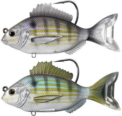 LIVETARGET Pinfish 3 1/2 inch Soft Body Swimbait Inshore Saltwater Fishing  Lure | eBay