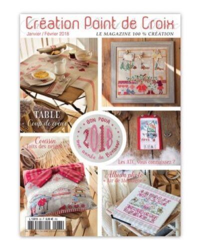 Revista Francesa puntada cruzada punto de creación de Croix No.68
