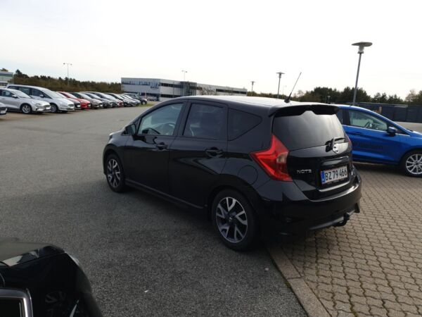 Nissan Note 1,2 Acenta Tech Pack billede 2