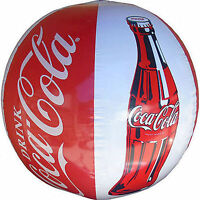 Pack Of 2 Coca-cola 14 Inch Blow Up Beach Ball