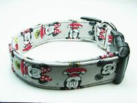 Charming Minnie Mouse & Mickey Mouse Dog Collar