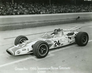 1966-GRAHAM-HILL-INDIANAPOLIS-WINNER-PERIOD-PHOTOGRAPH
