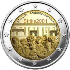2 EURO COMMEMORATIVO MALTA 2012