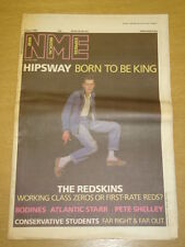 NME 1986 APR 5 HIPSWAY THE REDSKINS BODINES RADAR
