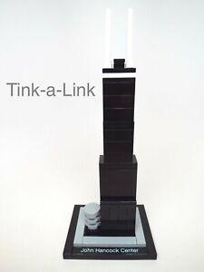 Lego Architecture John Hancock Center 21001 complete but no name plate
