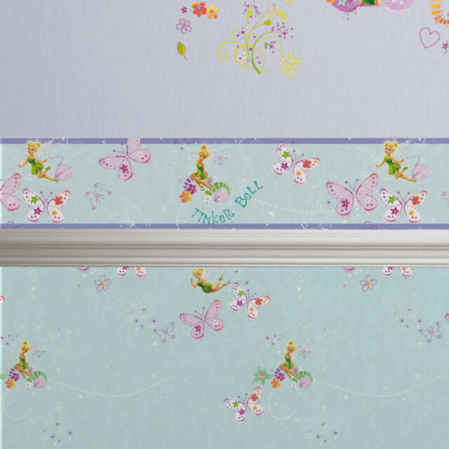 Disney Fairies Tinker Bell Wallpaper Border 100 Official For