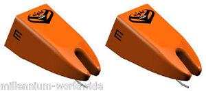 2-ORTOFON-NIGHTCLUB-E-MKII-TURNTABLE-STYLI-PHONO-STYLUS-SET-Authorized-Dealer