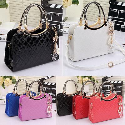 Fashion Ladies Handbag Shoulder Bag Tote Purse Hard Leather Women Messenger Hobo