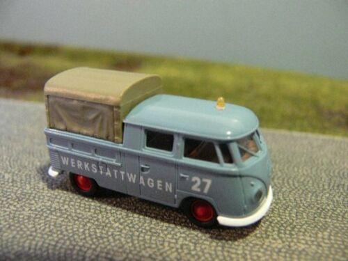 1//87 Brekina # 1690 VW t1 B doka taller carro NúmeroPuerta 27 32057