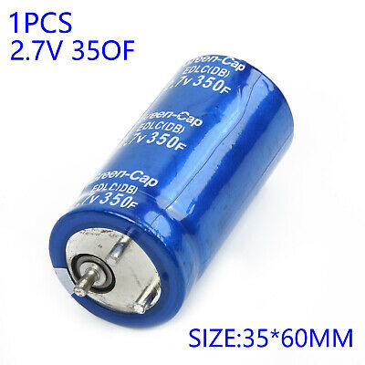 2.7V 350F 35x60mm Ultracapacitor Super Farad Capacitor Electrical Equipment Tool