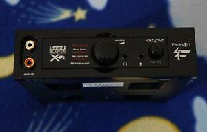 Creative Labs, Mod. SB1110: Frontalino x Sound Blaster X-Fi Titanium Fatal1ty .