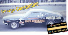 CD_MM_096 George Constantine 1967 Super Stock Mustang  1:18 scale decals  ~NEW~