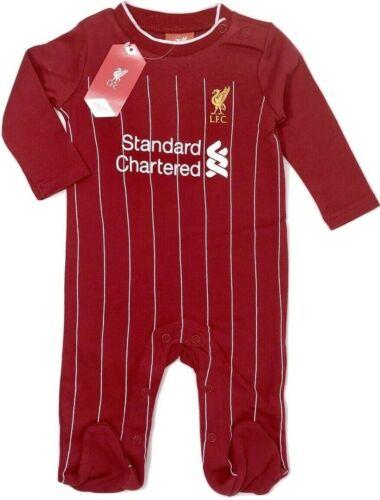 Liverpool FC 2020 Bambino Calcio Carrozzina Pigiama Crescita Gioco Body Bebè Lfc