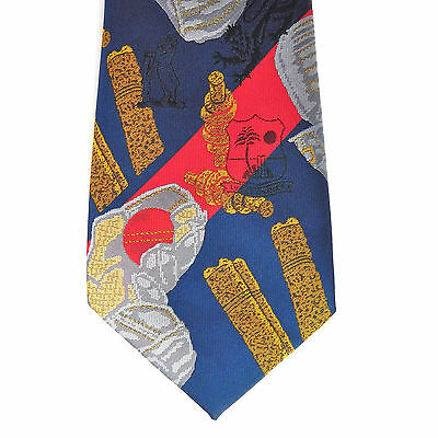 Cricket tie England v West Indies Edgbaston July 1995 vintage 1990s sport UNUSED