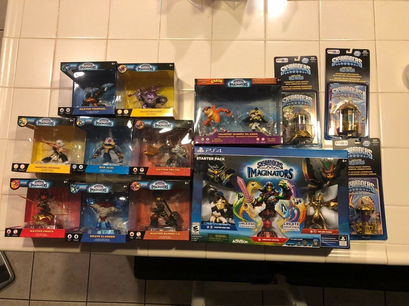 Skylanders Imaginators Creation Crystals Bad Juju Aurora Ember