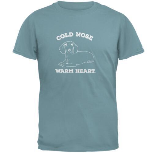 Cold Nez Chaud DASCHUND Ecume de Mer Adulte T-Shirt