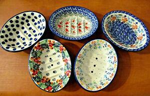 Kleine Seifenschale Bunzlauer Keramik Katzenmotiv