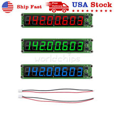 Rf Signal Frequency Counter Cymometer Tester Display 8led 01 60mhz 20mhz24ghz