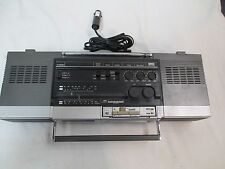 Vintage General Electric 3XM3226X AM/FM Radio Removable Micro Cassette Recorder