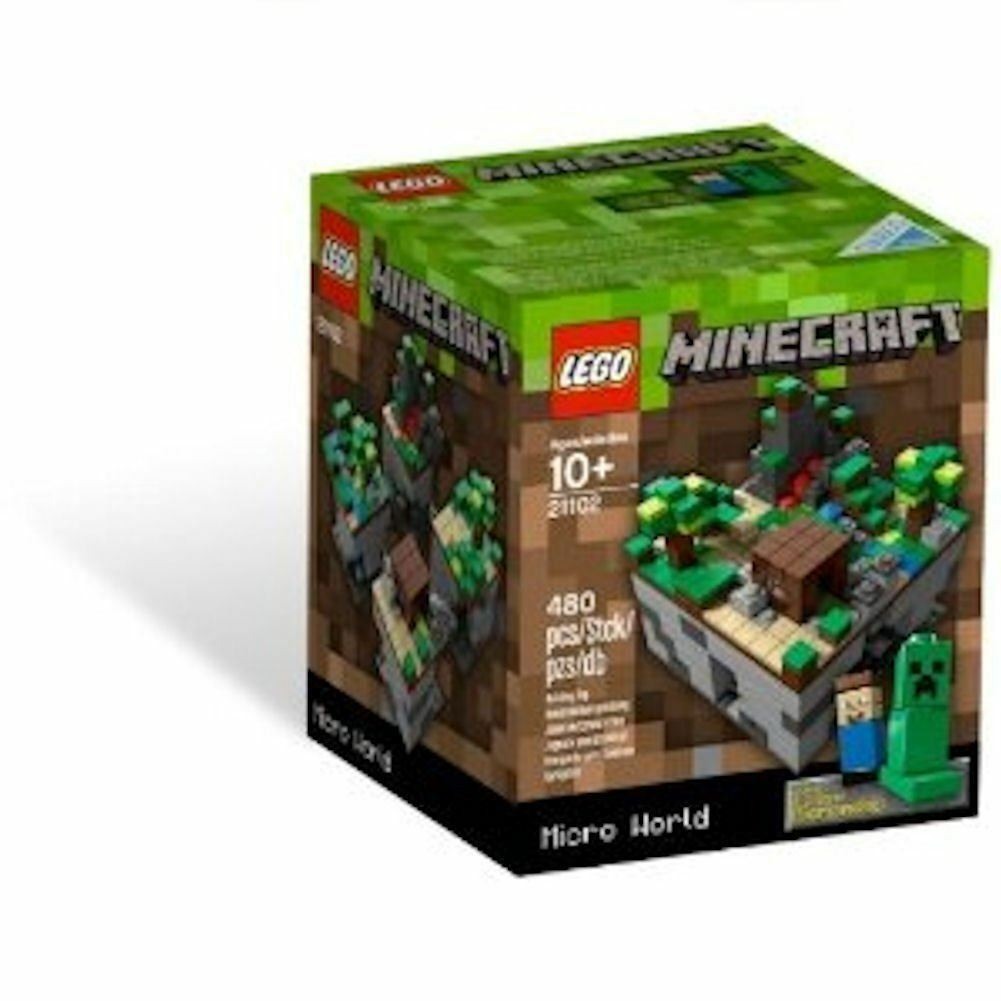 Lego Cuusoo Minecraft Micro World - The Forest 21102