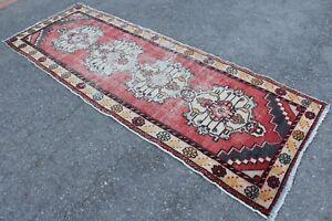 FREE-SHIPPING-Vintage-Handmade-Turkish-Oushak-Runner-Rug-9-039-3-034-x3-039-1-034