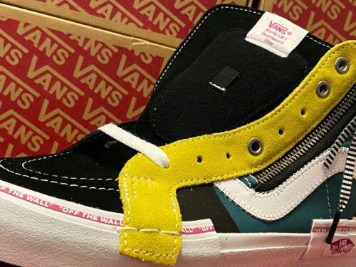 Details about  /Vans Sk8-Hi Skate Shoe REISSUE Ca JUZTAPOZE Canvas Skateboard Sneakers Mens 13