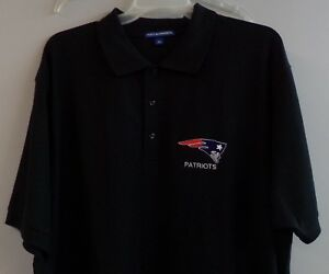 Image is loading New-England-Patriots-NFL-Football-Mens-Embroidered-Polo-